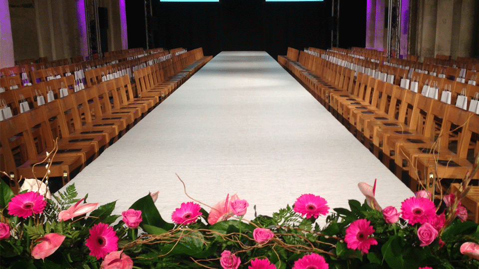 Catwalk Hire 4 with carpet